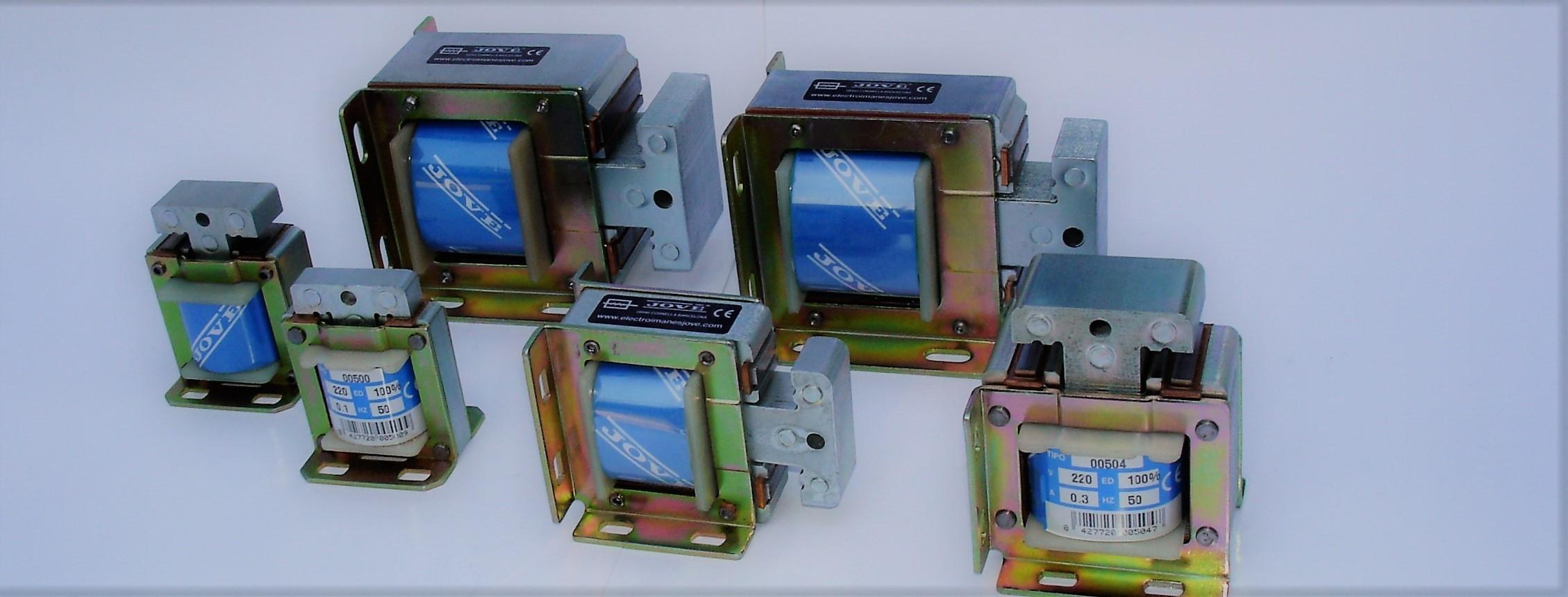 Electroimanes de maniobra corriente alterna